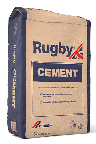 Rugby General Purpose Cement 25KG BAG (G)