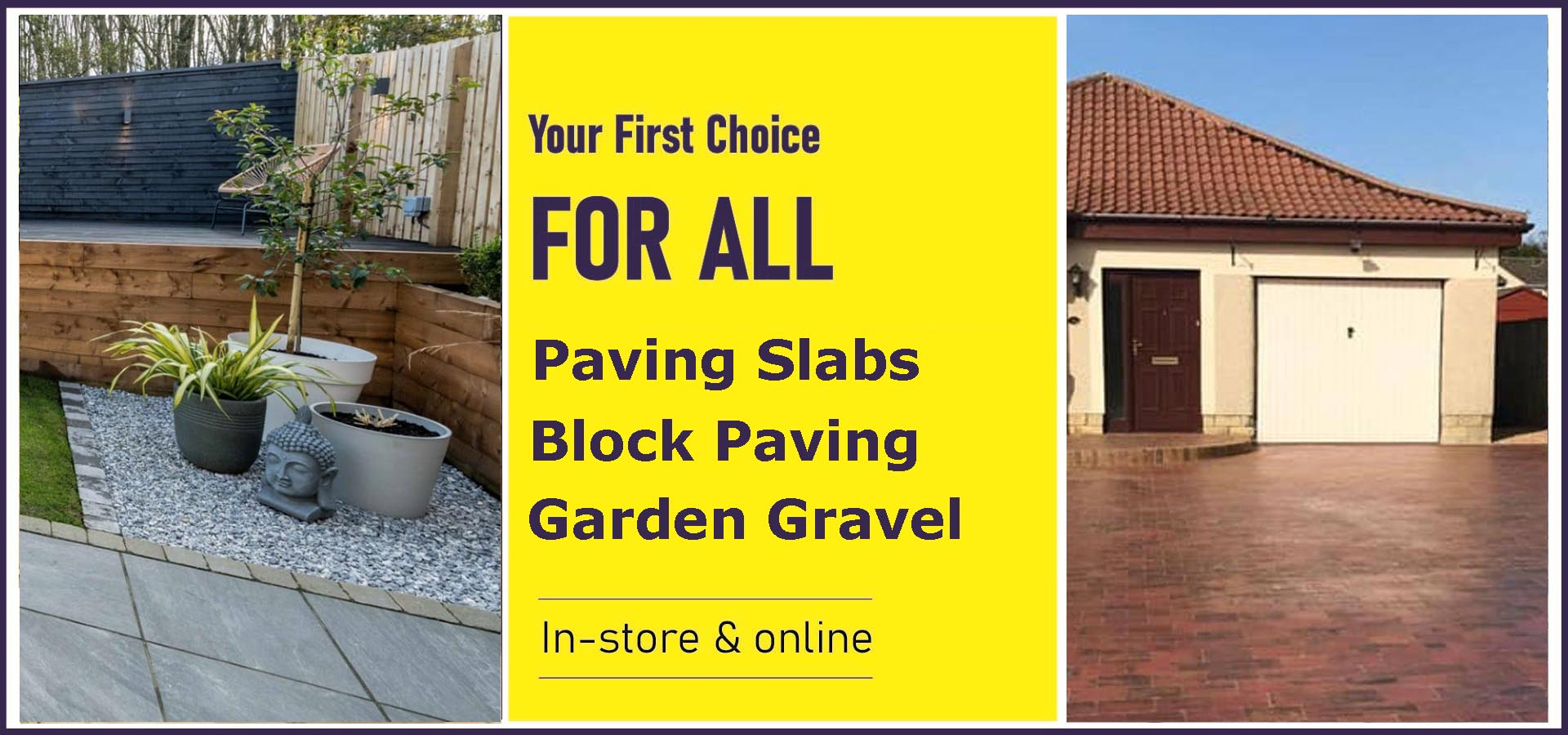 Paving Slabs, Block Paving